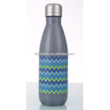 Stainless steel water sport Coke bottle