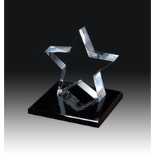 High Quality K9 crystal Trophy Star Trophy