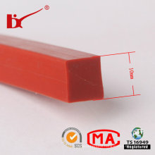 High Temperature Extrusion Solid Rubber Silicone Seal Strip