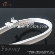 car pvc plastic transparent curtain rail