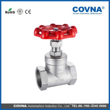 1PC water pvc ball valve ball 1000WOG stem gate valve