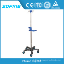 Krankenhaus Drip Stand Portable Infusion Support