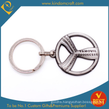 Custom Professional Auto Car Steering Wheel Shape Keychain for Decoration (KD-0698)