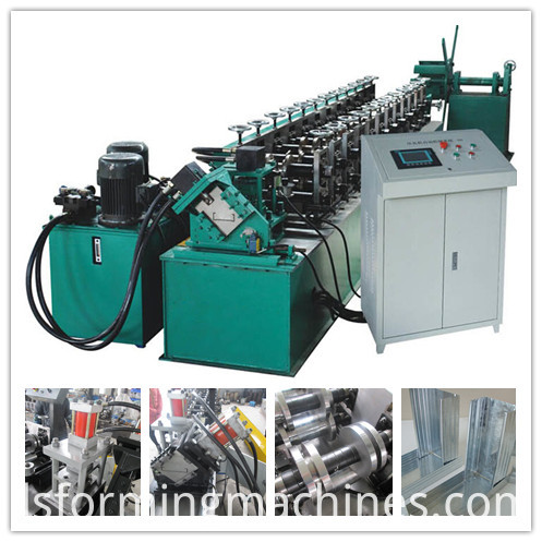 Fully Automatic Drywall Studs And Tracks Roll Forming Machine