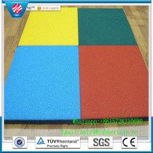 Gym Rubber Flooring Mat/ Gymnasium Flooring