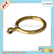 gold plastic curtain rod eyelet ring