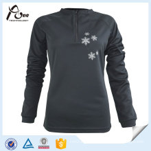 Cheap Custom Woman Polyester Long Sleeve Shirts