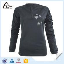 100% Polyester Billig Dickes Langarmhemd