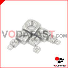 Écrou carré (acier au carbone, acier inoxydable)