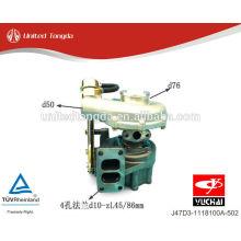 Turbocompressor Yuchai do motor de Yuchai J47D3-1118100A-502