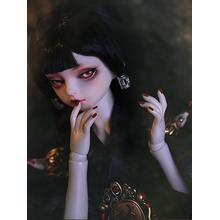 Living in Mirror-Ghost Jing Girl Boneca de articulação esférica de 42,5 cm