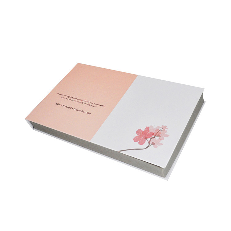 Cosmetic Paper Book Shaped Gift Box