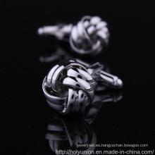 Gemelos de camisa de hombre plata VAGULA (L28315)