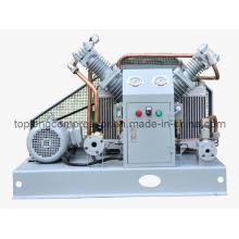 Compressor de hélio de oxigênio O2 sem óleo Oilless