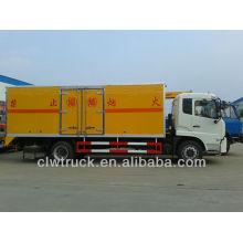 Venta caliente Dongfeng Tianjin 4X2 camión prueba de explosión, camiones dongfeng para la venta en Bolvia