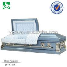 JS-ST609 steel coffins and caskets