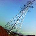 Tour de l'acier à angle linéaire à double circuit de 500 Kv