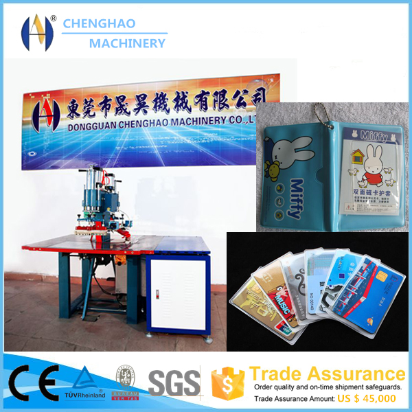 High Frequency Plastic Bag Making Machinery