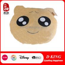Venda quente linda expressão travesseiro brinquedo