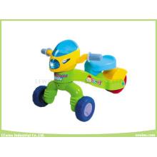 Lustiges Dreirad für Kinder mit Musik und Lichtern