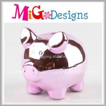Novelty Present Gifts Ceramic Pig Piggy Bank
