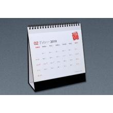 Impresión en offset Impresión personalizada del calendario de escritorio, servicio de impresión