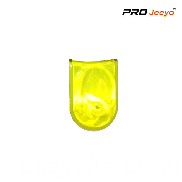 Yellow Led Light Magnetic Clip For Bagscj Pvc003
