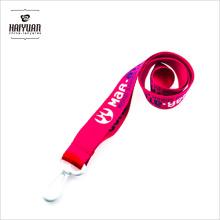 """1 """"poliéster promocional / cordão de nylon com titular de identificação de plástico ID Made in China"""