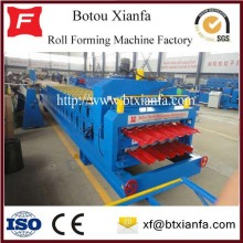 Customized for Double Layer Roll Forming Machine Cold Rolled Steel Metal Tile Forming Machine export to Zambia Manufacturers