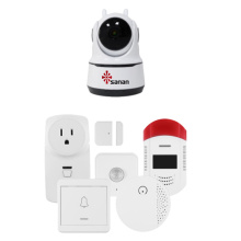 Wireless Smart home alarm cctv system 1080P