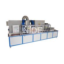 Máquina de recubrimiento electrostática de la pintura de la energía de la armadura