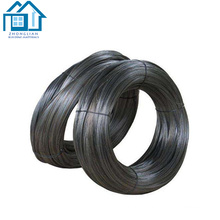 China manufacturer 4mm soft black annealed iron steel wire