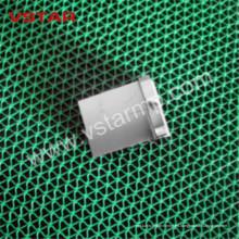 CNC que trabaja a máquina la pieza del acero inoxidable para los recambios de la telecomunicación que echa Vst-0923