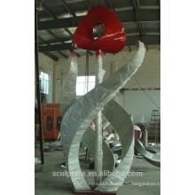 Sculpture en arabe sculpture artistique en métal arabia