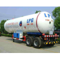 3 Axle LPG tank Trailer LPG tank semi trailer 59.52cbm Liquefied petroleum lpg tank 30mt for Africa market