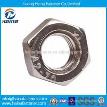 Em stock DIN934 em porca hexagonal de aço inoxidável