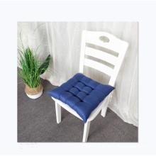 wholesale solid color linen futon sofa office chair cushion