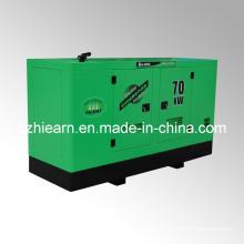 Water-Cooled Diesel Generator Set Silent Canopy Cummins Engine (GF2-70KW)