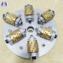 Improve Production Efficiency Diamond Rotary Bush Hammer Grinding Wheel For Litchi Surface