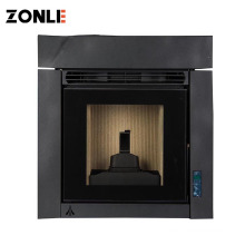 Design  Indoor Recessed Electric Wood Fireplace For Good Sale