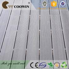 China madera de plástico compuesto aplicaciones de espuma cubierta