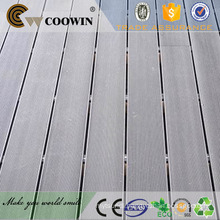 China wood plastic composite foam applications deck