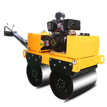 small walk behind double drum road roller