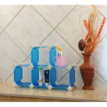 Cremalheira de exposição do cubo do armazenamento do banheiro (FH-AL13)