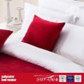Corredor da cama da tela da decoração do poliéster