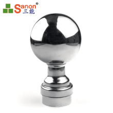 Anti Corrosion Stainless Steel Hollow Ball For Stair Handrail Decoration