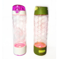 Plastic Custom Sports Water Bottles Personalized With Lights
