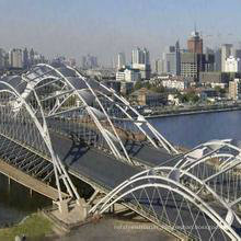 Wz-B018 Prefabricated Steel Structure Pedestrian Bridge