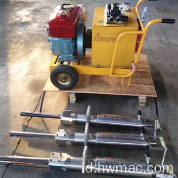 Portable Manual Handle hydraulic wedge rock splitter