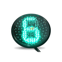 300mm full plate countdown timer traffic light lampwick